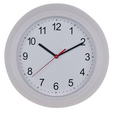 Zegar ścienny Trans śr. 25 cm biały
