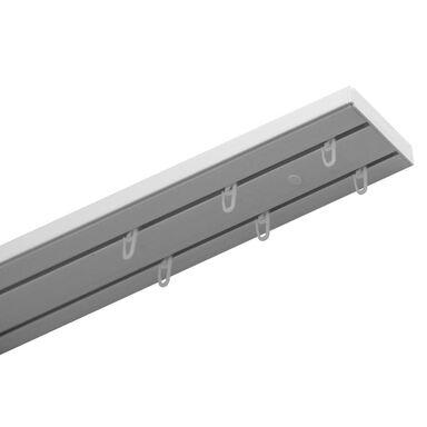 Szyna sufitowa 2-torowa 150 cm z akcesoriami PVC Gardinia