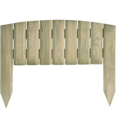 Płotek rabatowy 40 x 30 cm drewniany FIOŁEK SOBEX