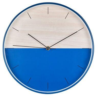 Zegar ścienny Navy śr. 30 cm niebiesko-biały