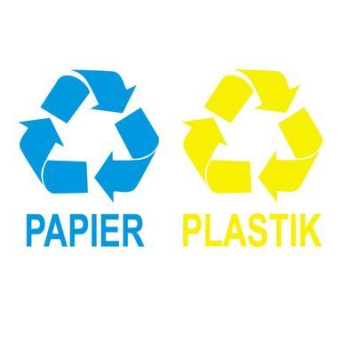 Naklejka PAPIER/ PLASTIK