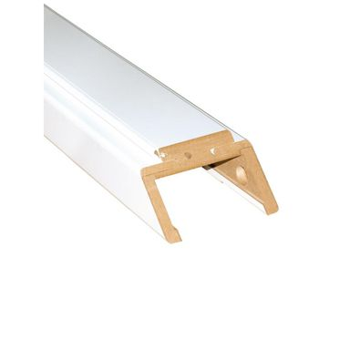 Belka górna ościeżnicy regulowanej 90 Biała 400 - 420 mm Artens