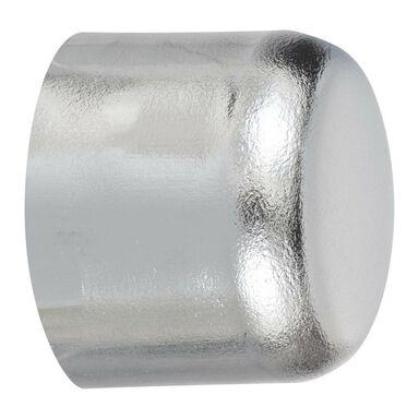 Końcówka do karnisza KOREK chrom 20 mm 2 szt. INSPIRE