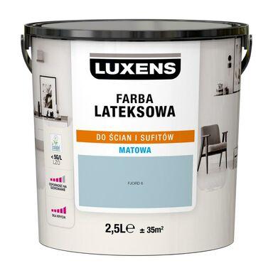 Farba wewnętrzna LATEKSOWA 2.5 l Fjord 6 LUXENS