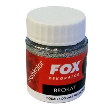 Dodatek strukturalny do farb BROKAT FOX