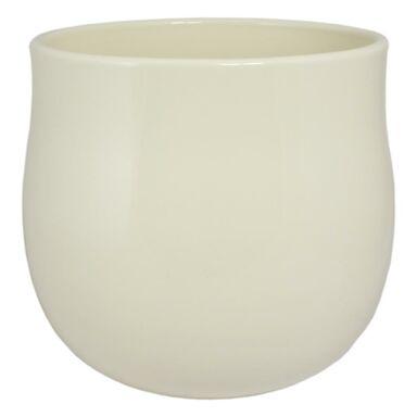 Osłonka ceramiczna 15 cm kremowa 63015/023 CERMAX