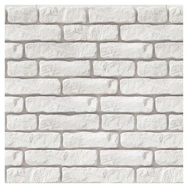 Kamień dekoracyjny gipsowy Harvard Biały 27 x 6.8 cm  0.44 m2 Max-Stone