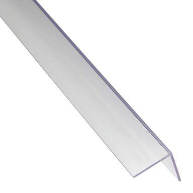 Kątownik PVC 2.6 m x 19.5 x 19.5 mm bezbarwny STANDERS