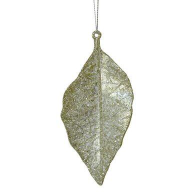 Zawieszka złoty liść 10 cm 1 szt.