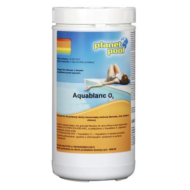 Granulat do basenu 1 kg PLANET POOL AQUABLANC O2