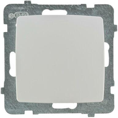 Włącznik pojedynczy KARO  Biały  OSPEL