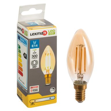 Żarówka LED E14 (230 V) 3,5 W 300 lm LEXMAN