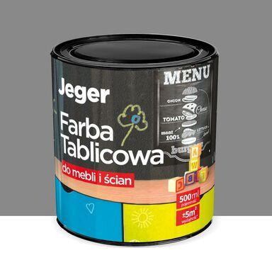 Farba tablicowa do mebli i ścian 0.5 l Szara JEGER
