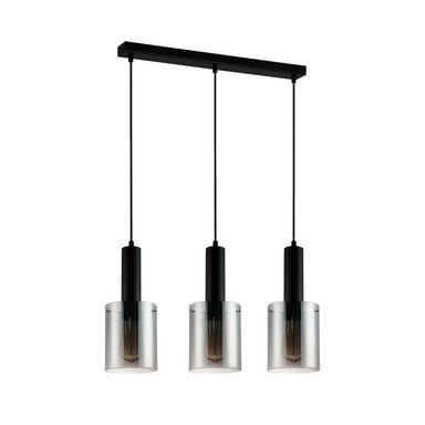 Lampa wisząca SARDO czarna 3 x E27 ITALUX