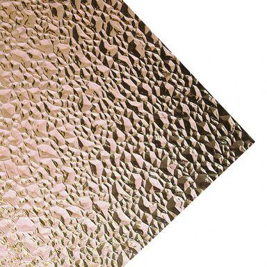 Szkło syntetyczne PUNKTY DIAMENTOWE Dymne 142 x 54 cm ROBELIT