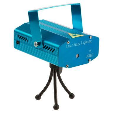 Projektor wewnętrzny laserowy 6 obrazów muzyczny