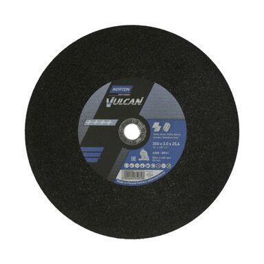 Tarcza do cięcia T41 350 x 3.0 x 25.4 STAL NORTON VULCAN