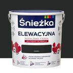 Farba elewacyjna akrylowa 2.5 l Czarny Śnieżka