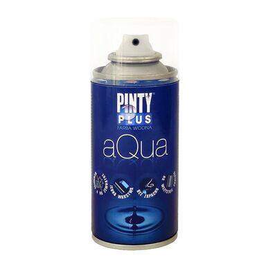 Lakier wodny w sprayu AQUA 150 ml bezbarwny matowy PINTY PLUS