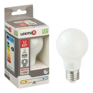 Żarówka LED E27 (230 V) 7.5 W 806 lm Neutralny LEXMAN