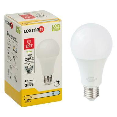 Żarówka LED E27 (230 V) 18,5 W 2452 lm Ciepła biel LEXMAN