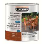 Olej do mebli ogrodowych 0.75 l Bezbarwny LUXENS