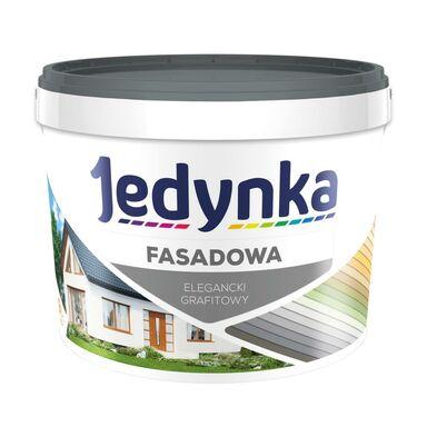 Farba elewacyjna FASADOWA 2.7 l Elegancki grafitowy JEDYNKA