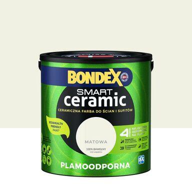 Farba wewnętrzna Smart 2.5 l 100% bawełny Bondex