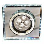 Oprawa stropowa SS-22 kwadratowa biała + LED CANDELLUX