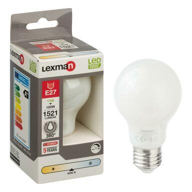 Żarówka LED E27 (230 V) 11 W 1521 lm Neutralny LEXMAN
