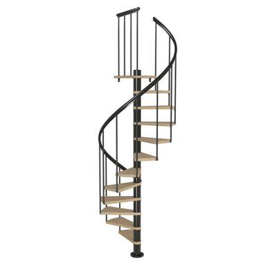 Schody spiralne MONTREAL Classic 2 Dąb fornirowany 120 cm DOLLE