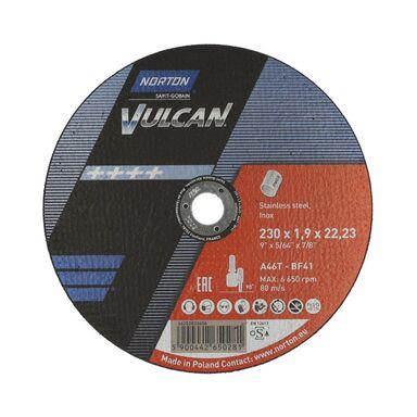 Tarcza do cięcia T41 230 x 1.9 x 22.23 INOX NORTON VULCAN