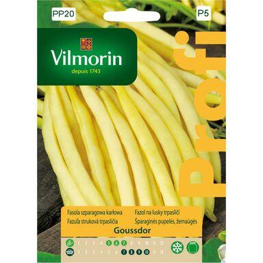 Fasola szparagowa GOUDSSDOR nasiona tradycyjne 30 g VILMORIN