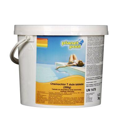 Tabletki do basenu 15 szt. / 200 g PLANET POOL CHEMOCHLOR T