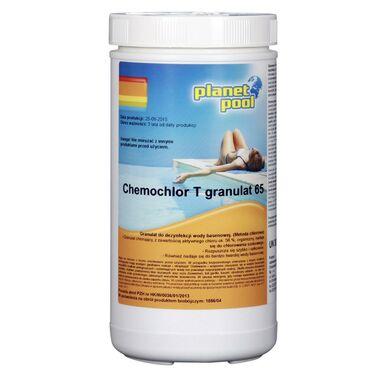 Produkt do pielęgnacji wody basenowej CHEMOCHLOR T 1 kg PLANET POOL