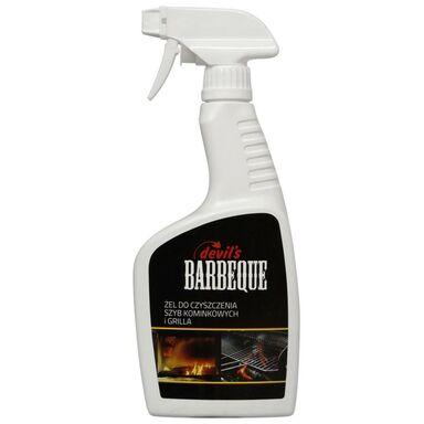 Żel do czyszczenia szyb kominkowych i grilla DEVILS BARBEQUE 0.5 l GAMIX