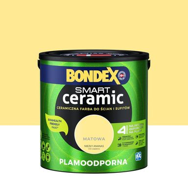 Farba wewnętrzna Smart 2.5 l Niezły ananas Bondex