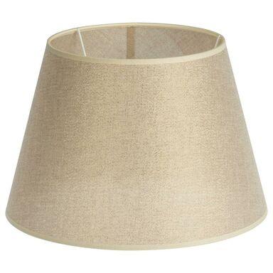 Abażur MONTE CARLO 30 x 20 cm tkanina złoty E27