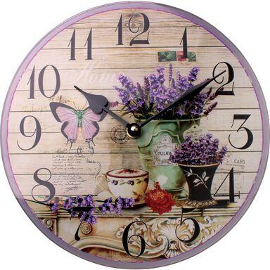 Zegar ścienny PROWANSJA 25 x 4 cm