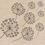 Serwetki eko Dandelions 33 x 33 cm 20 szt.