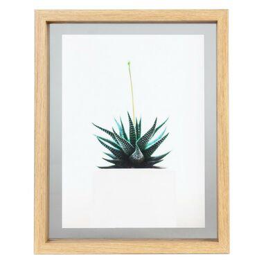 Ramka na zdjęcia Kron 24 x 19 cm jasnobrązowa MDF