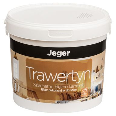 Efekt dekoracyjny TRAWERTYN 14 kg l PratoEfekt mineralny JEGER
