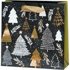 Torebka na prezenty Christmas tree 6 x 17 cm