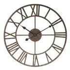 Zegar ścienny SOLAR śr. 40 cm brązowy
