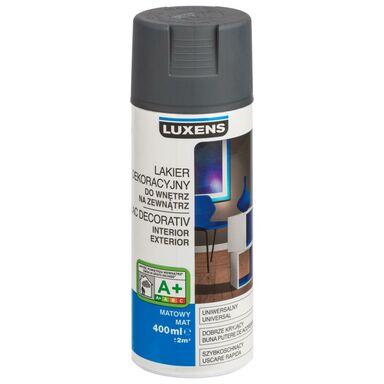 Spray KOLOR 0.4 l Grafitowy Mat LUXENS