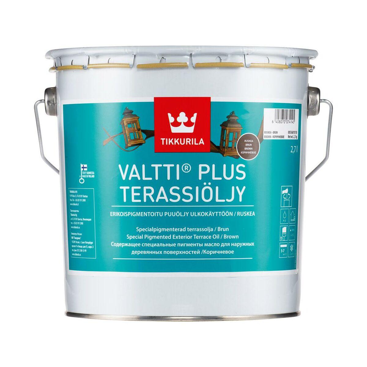 Olej Zabezpieczajacy Valtti Terrace 2 7 L Braz Tikkurila Preparaty I Oleje Do Tarasow W Atrakcyjnej Cenie W Sklepach Leroy Merlin