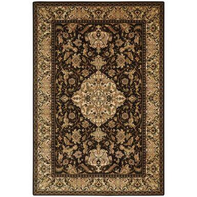 Dywan wełniany Sefora brązowy 200 x 300 cm