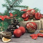Serwetki świąteczne Holiday time 33 x 33 cm 20 szt.
