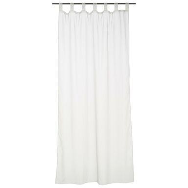 Firana na szelkach POLY 140 x 245 cm biała INSPIRE