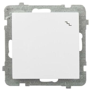 Włącznik pojedynczy schodowy AS  Biały  OSPEL